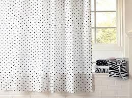 Polka Dot Curtains Colorful Curtains Black Polka Dot Curtains Polka Dot Shower