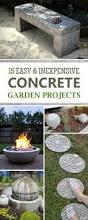 best 25 concrete garden ideas on pinterest garden globes