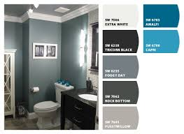 possible color for downstairs powder room or upstairs guest
