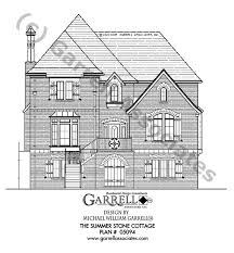 Stone House Plans Summer Stone Cottage House Plan House Plans By Garrell