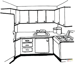 coloring pages of kitchen things kitchen coloring pages coloring sheet kitchen kitchen coloring