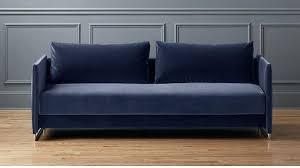 Velvet Sleeper Sofa Navy Blue Sleeper Sofa Wojcicki Me