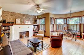 warm and cozy rogers park two bedroom with exposed brick wants