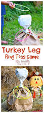 things to make for thanksgiving turkey leg ring toss thanksgiving game for kids and family
