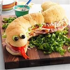 halloween snake sandwich u2013 best fast cheap easy party food