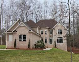 5 bedroom home plan with basement raleigh stanton homes this version of the summerlyn is an all brick house with full finished basement