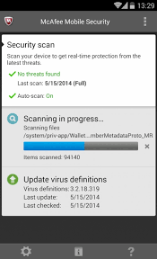 mcafee mobile security apk mcafee review identity advisor