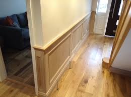 Wooden Wall Panels by Close Up Detailing Of Fluted Corners On Oak Desk Oak Panelling