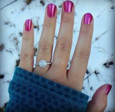 real engagement rings real engagement ring selfies from real brides selfies