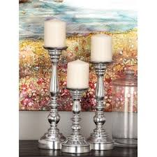 Vintage Bohemian Lead Crystal Candle Holder For Three Candles Candlesticks