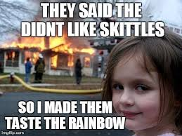 Taste The Rainbow Meme - taste the rainbow meme girl the best of the funny meme