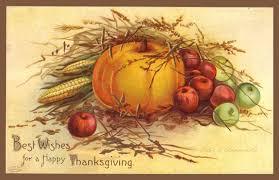 vintage happy thanksgiving card nh labor news