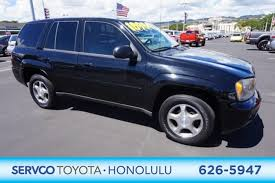 chevrolet trailblazer 2008 used 2008 chevrolet trailblazer for sale honolulu hi