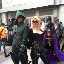 Green Arrow Halloween Costume Wondercon 2014 Black Canary Green Arrow Greenarrow