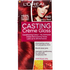 rich cherry hair colour l oreal casting creme gloss conditioning hair colour cherry red 1