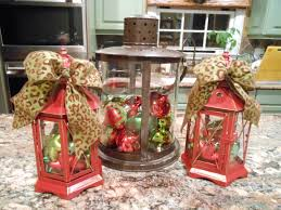 Simple Christmas Home Decorating Ideas by Cool Lanterns Decorated For Christmas Decorating Ideas