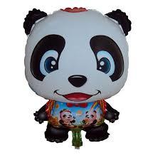 cheap balloons 42x62cm animal shaped cheap mylar balloons panda party decorations