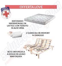 rete con materasso offerte e promozioni per reti ortopediche con materasso in sconto