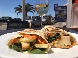 arabic wrap arabic chicken wrap at chillax quarteira picture of chillax cafe