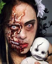 Scary Halloween Costumes Girls Scary Halloween Makeup
