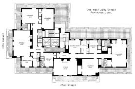 fashionable london penthouse floor plans 7 luxury presidential