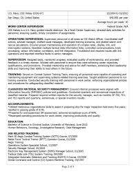 Federal Employment Resume Federal Employment Resume Free Resume Example And Writing Download