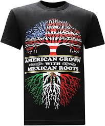 Colors Of The Mexican Flag Amazon Com Aztlan Mexican Flag Skull Mens Graphic T Shirt