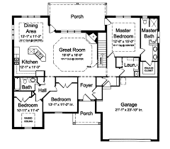 House Plans With Jack And Jill Bathroom Hennessey Hill Ranch Home Plan 065d 0305 House Plans And More