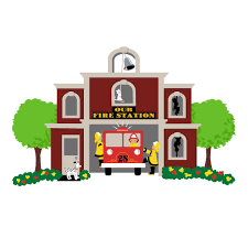 our fire station paint by number wall mural elephants on the wall our fire station paint by number wall mural