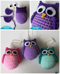 amigurumi crochet owl free patterns