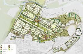 Urban Map Aldershot Urban Extension Aue Rushmoor Borough Council