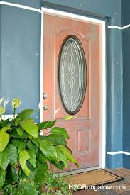 how to faux paint a copper door