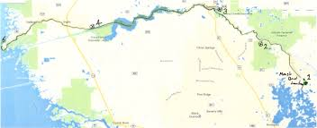 Florida Intracoastal Waterway Map by The Wild And Wonderful Withlacoochee An Overview Yackman Com