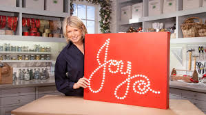 video ask martha lighted holiday sign decoration martha stewart