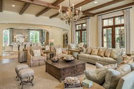 french country farmhouse decor living room traditional with wood