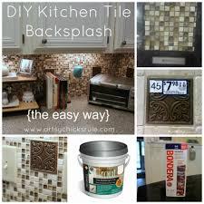 Easy To Install Backsplashes For Kitchens How To Install A Tile Backsplash How To Install Kitchen Backsplash