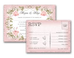 Wedding Invitations And Response Cards Rsvp Sample For Wedding Tbrb Info