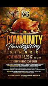 kansas city community thanksgiving dinner kansas city missouri