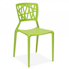 Stackable Outdoor Chair Green Viento Style Plastic Chair Stackable Outdoors Chairs Cult Uk