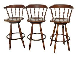 Wooden Swivel Bar Stool Chair Awesome Wooden Bar Stools With Backs Low Back Upholstered