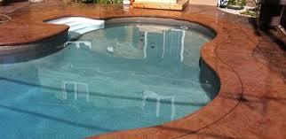 concrete pool deck paint ideas modern interior design inspiration