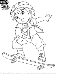 Go Diego Go Images 449356 Go Diego Go Coloring Pages