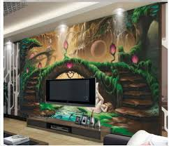 popular fairy wall murals buy cheap fairy wall murals lots from home decoration 3d wall murals wallpaper european fantasy fairy tale tv backdrop photo mural wallpaper
