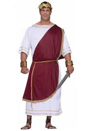 plus size mighty caesar costume