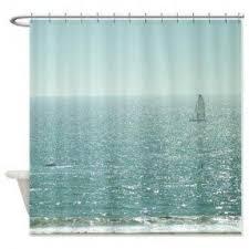 beach themed shower curtains beach themed shower curtain clear