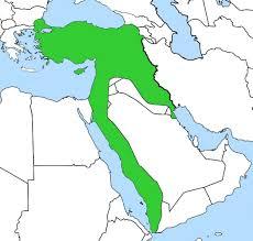 Present Day Ottoman Empire Ottoman Empire Of 1913 With Present Day Borders Superimposed