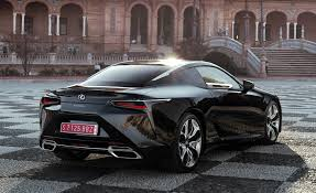 lexus lc 500 interior black 2018 lexus lc 500h black exterior rear and side gallery photo 57