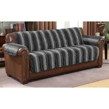 slipcovers for leather sofa and loveseat sofa covers for leather couch wayfair