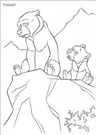 brown bear coloring pages kids coloring