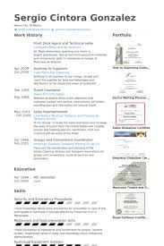 Catering Resume Samples by Front Desk Agent Resume Samples Visualcv Resume Samples Database